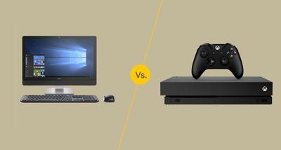 PC vs. console