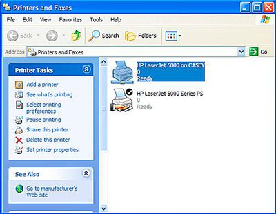 Mac Printer Sharing: Share Your Mac's Printer With Windows XP: An Overview