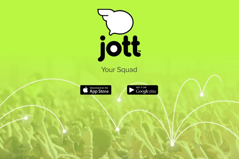 Screenshot of Jott.com