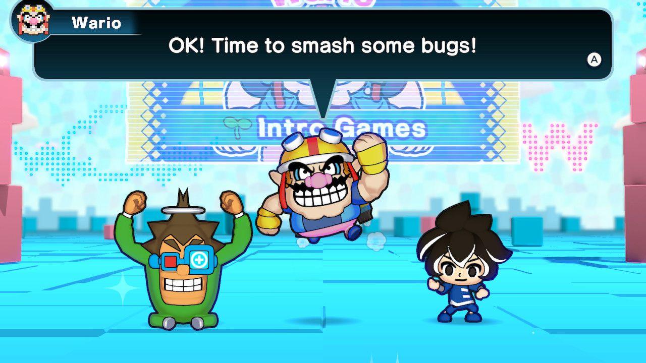 Screenshot from 'WarioWare: Get It Together.'