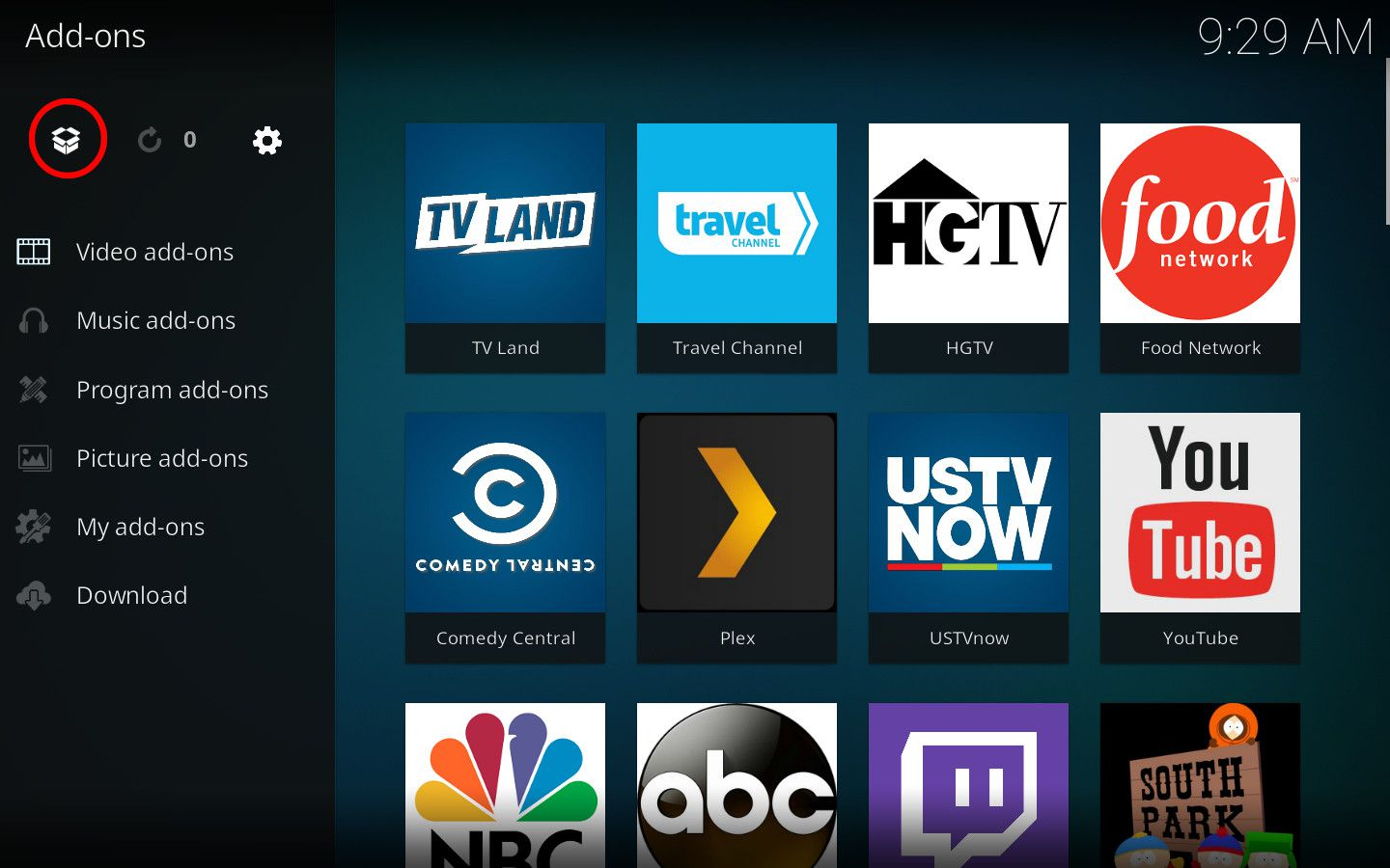 Install Exodus on Kodi Media Center