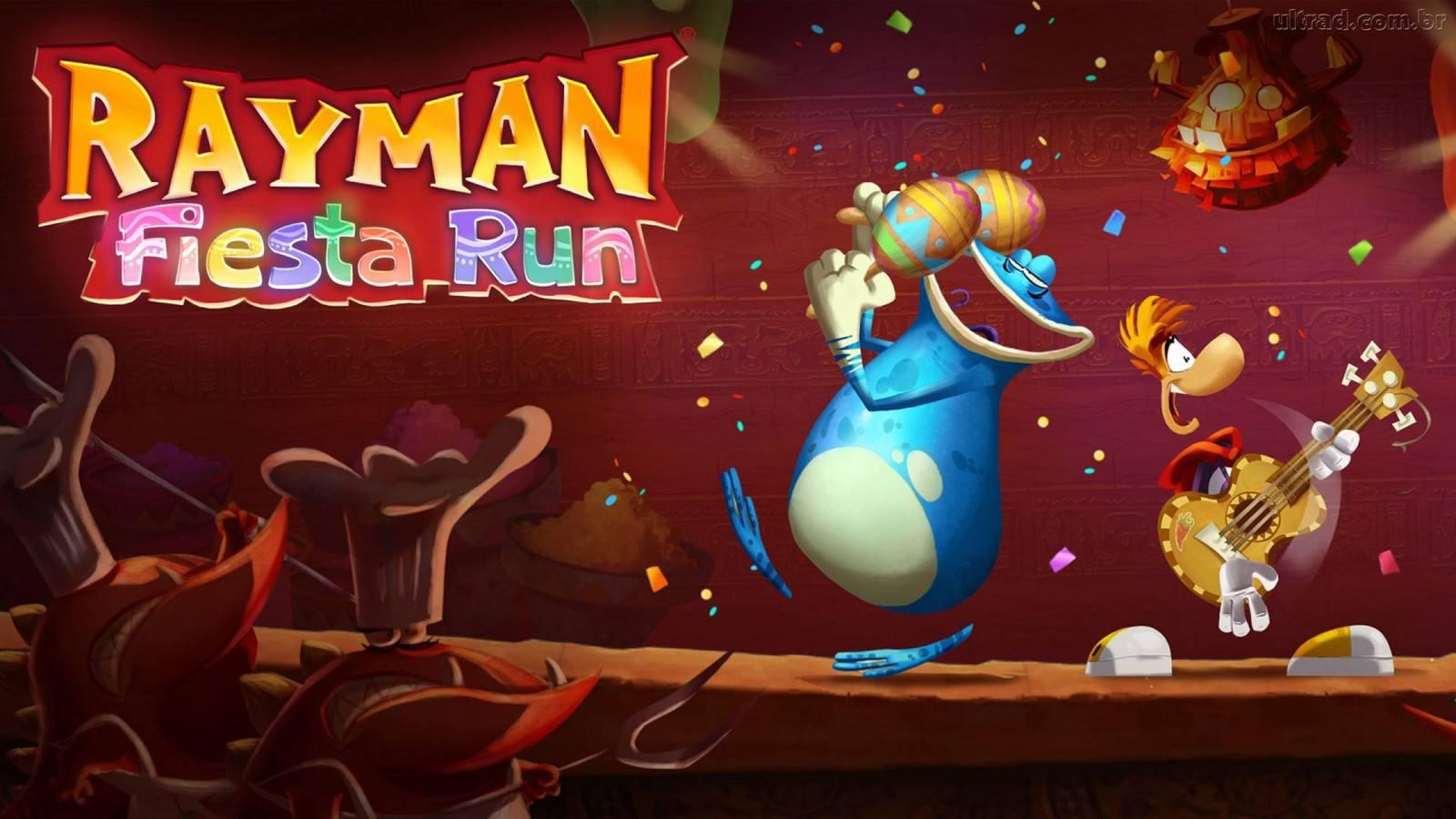 Screenshot of Rayman Fiesta Run