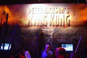 E3 2005 Peter Jackson's King Kong booth
