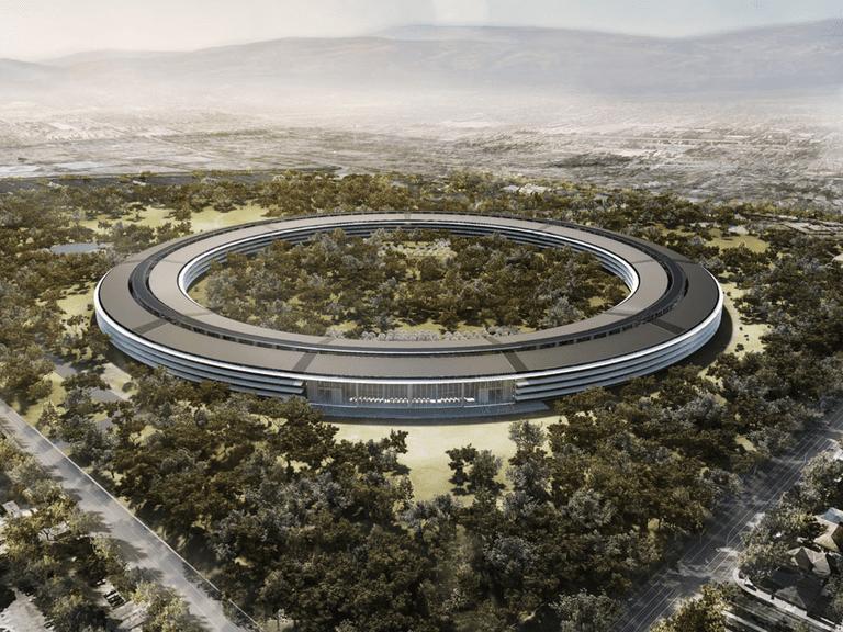 Apple Park rendering