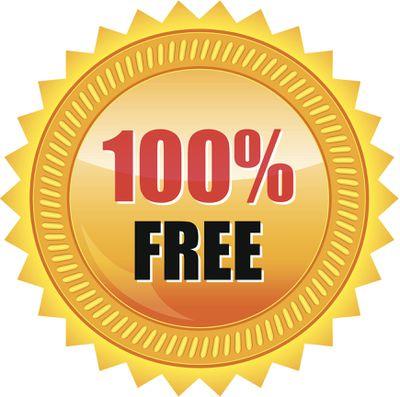 100% free gold seal sticker