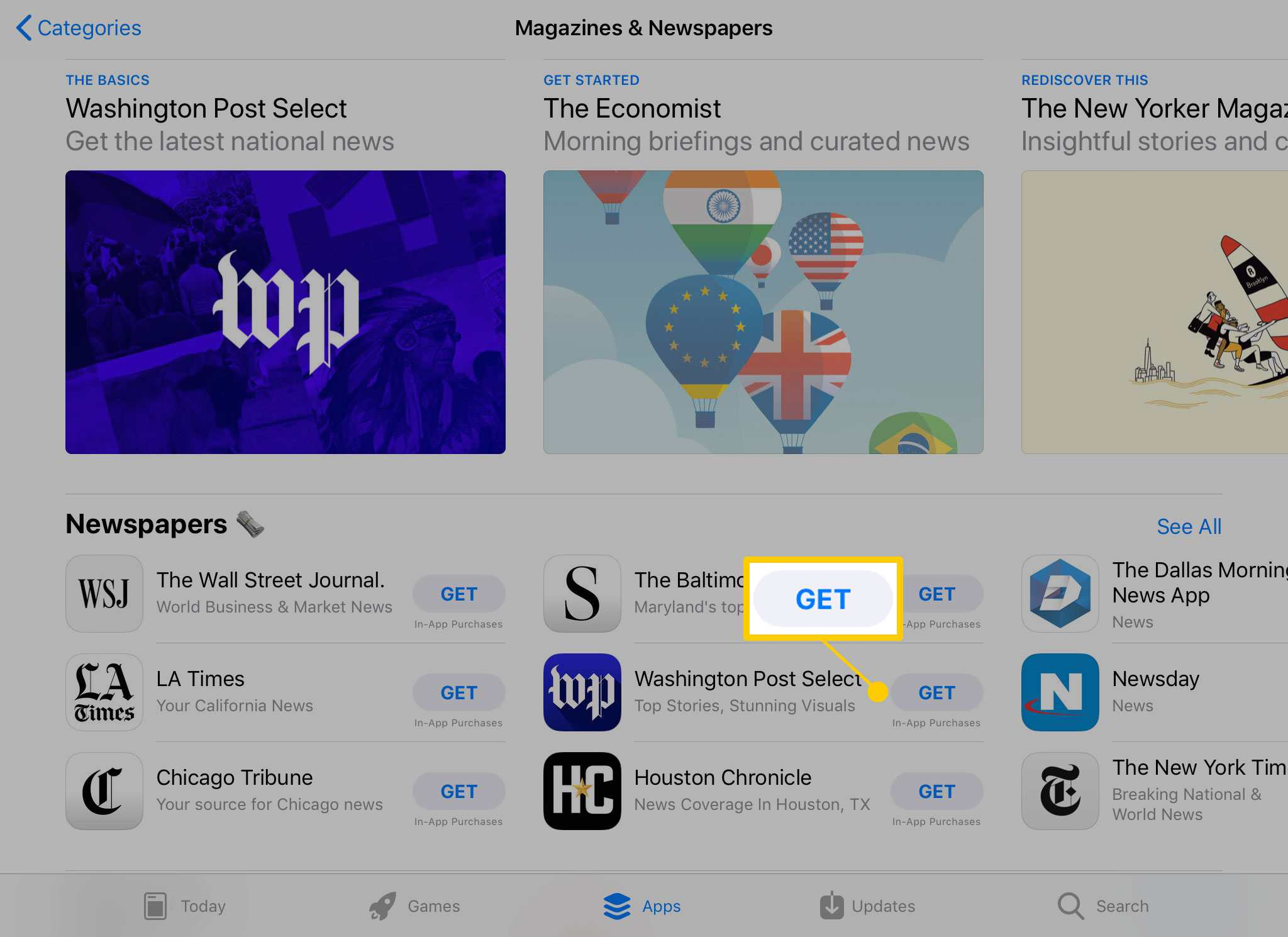How to Subscribe to a Magazine or Newspaper on the iPad