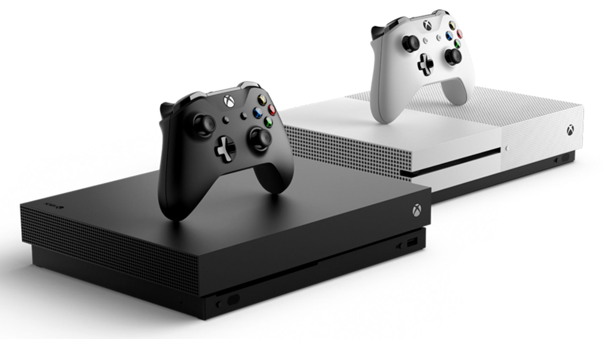 Xbox One X and Xbox One S consoles, Xbox Controllers, Xbox 1, XB1