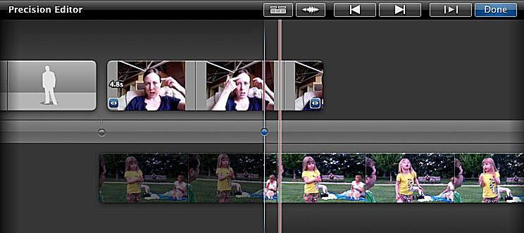 Start Editing an iMovie Project