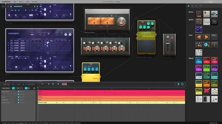 AudioTool Main Screen