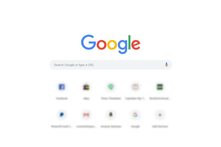 Google Search page screenshot