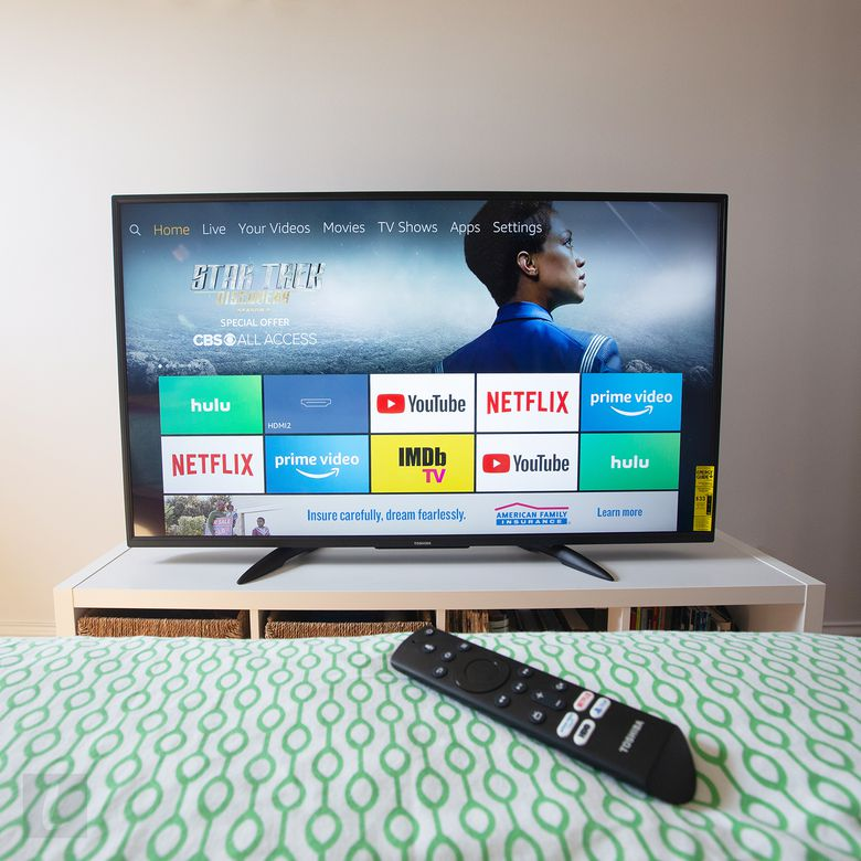 Toshiba 55LF711U20 55-inch Fire TV Edition