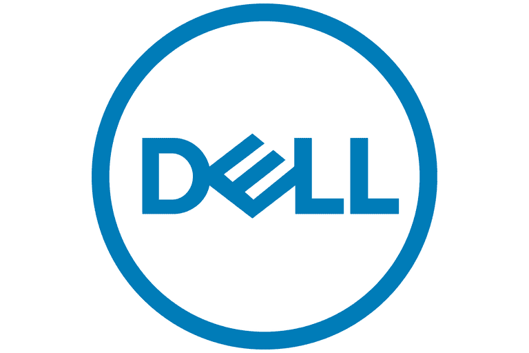 Picture of the Dell logo
