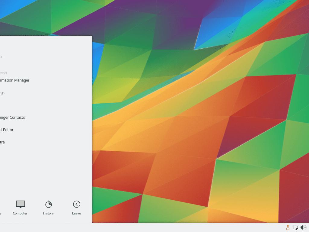 An Overview of the KDE Desktop Environment
