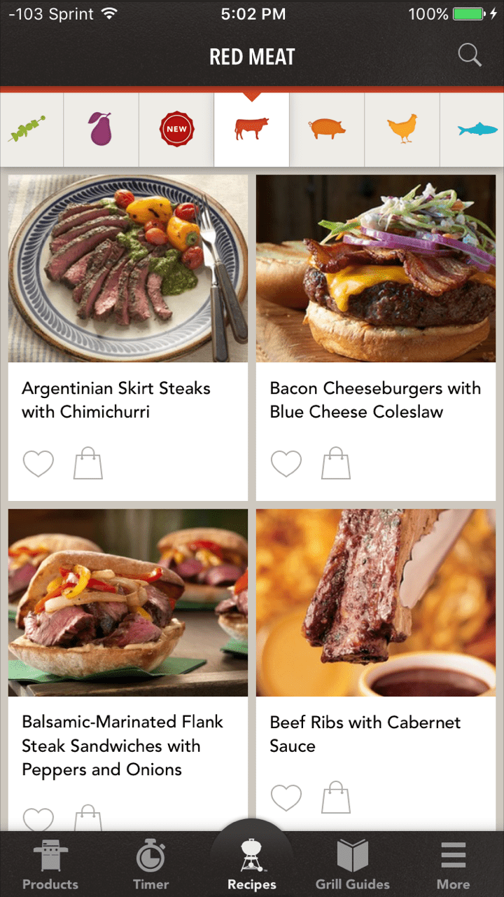 10 great recipe apps for your iphone weber grills app forumfinder Gallery