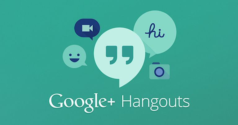 Google Hangouts logo and other IM icons