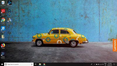 Select the Windows Action Center (the speech bubble icon) on the Windows taskbar.