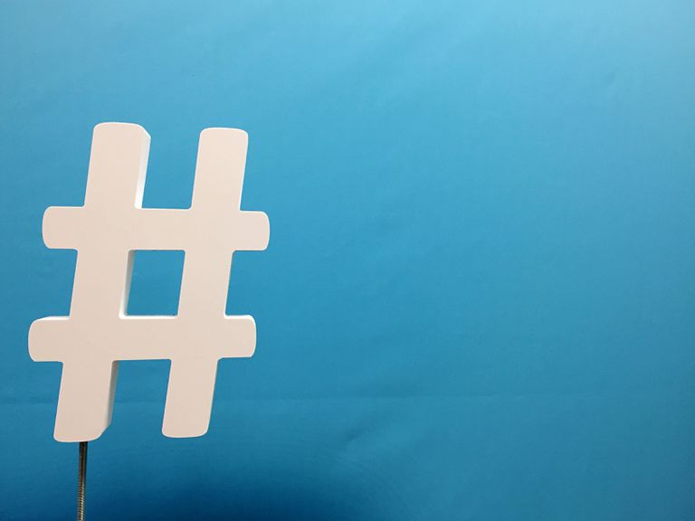 An image of a hashtag symbol.