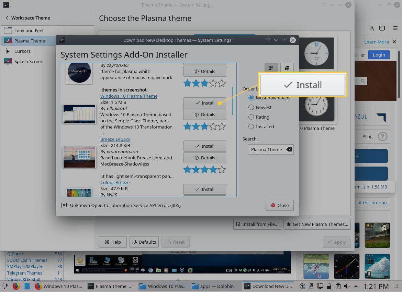 How to Make KDE Plasma More Like Windows