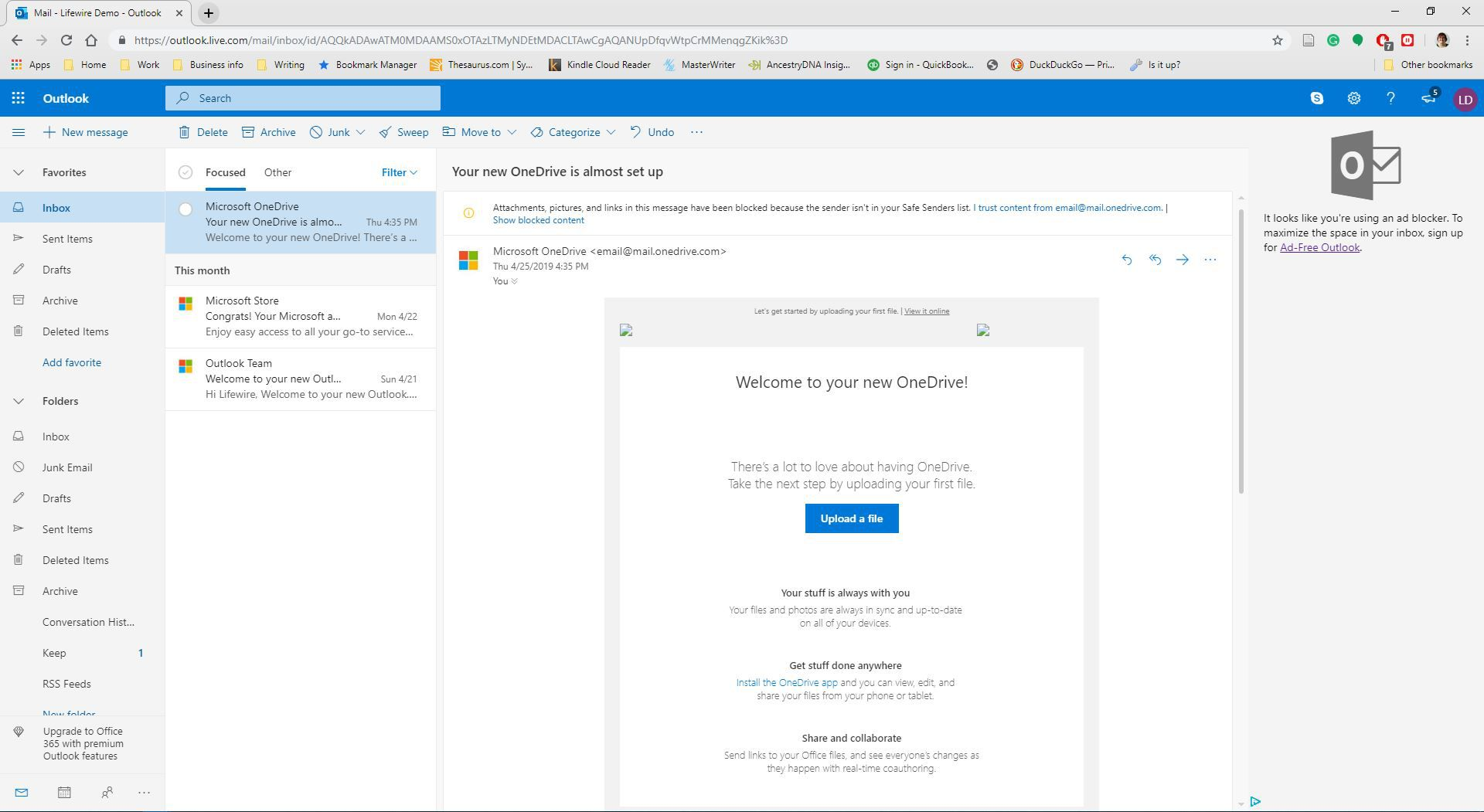 How to Forward an Email Message in Outlook com