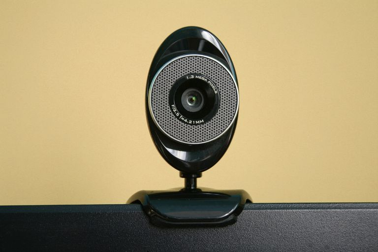 Webcam on a Monitor