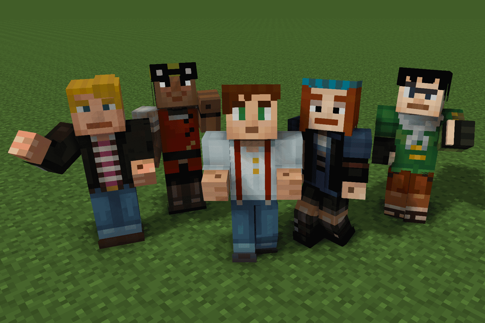 Download Skins For Minecraft Story Mode