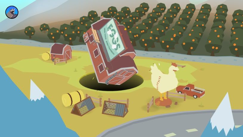 Donut County for iPhone