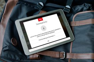 Download & Go instructions on Netflix on a Samsung tablet