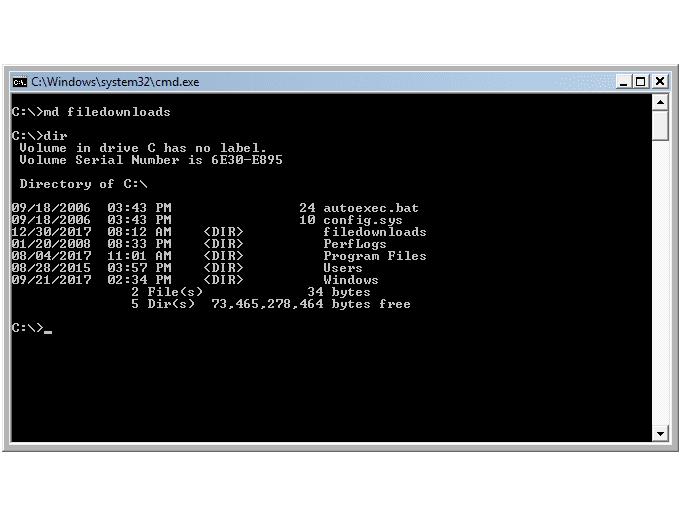 Windows Vista Command Prompt Commands (Part 2)