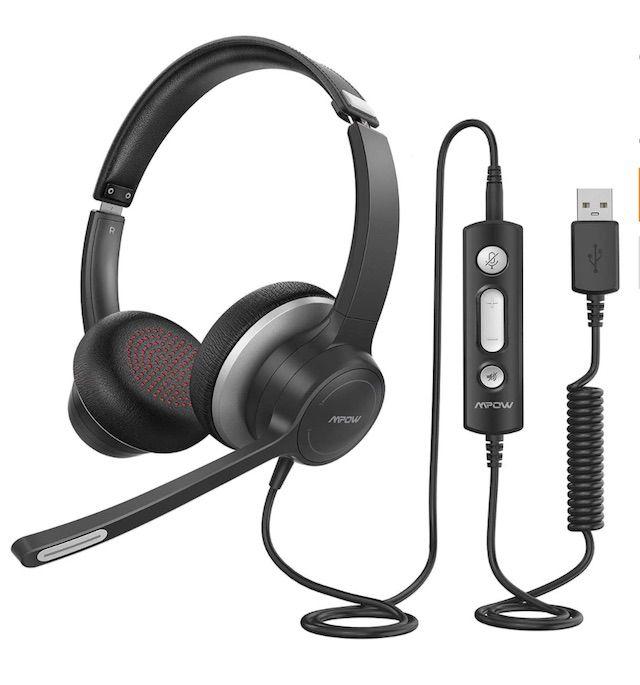 Mpow HC6 USB Headset