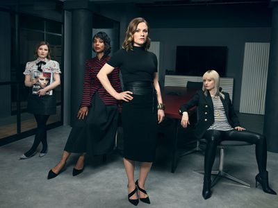 The main cast of 'Flack'