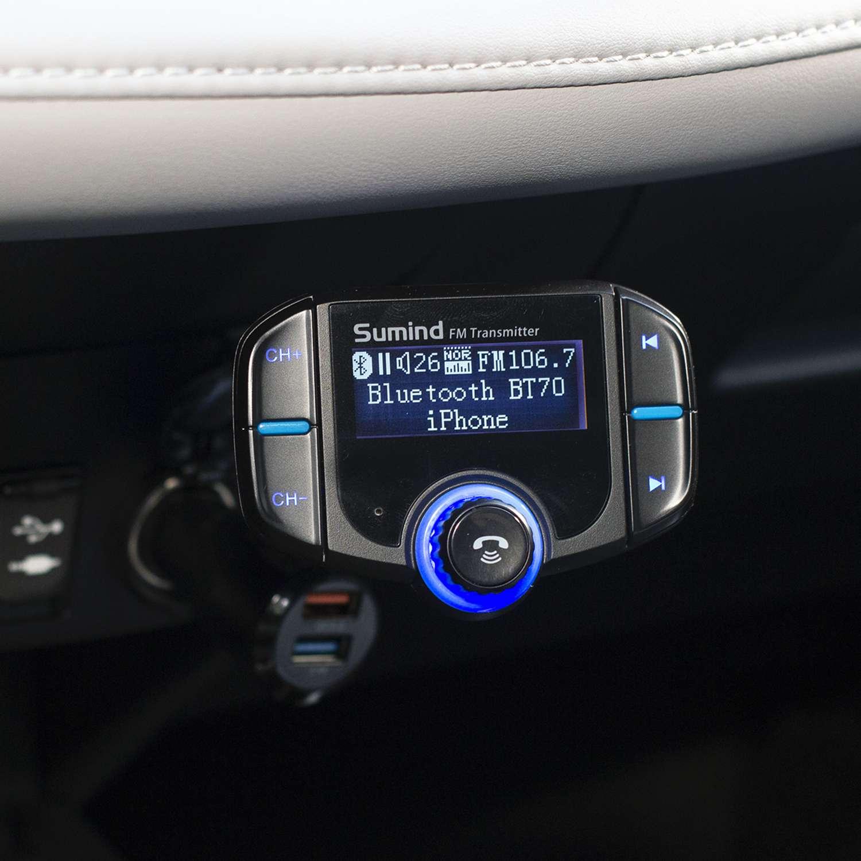 Sumind BT70 Bluetooth FM Transmitter