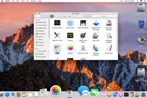 Add apps to the Mac's Dock