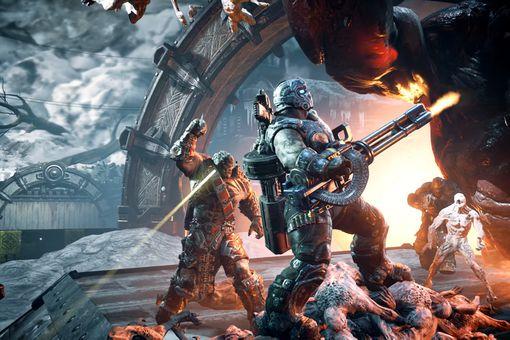 Screenshot from Gears of War 4