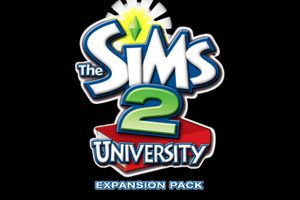 The Sims 2 University Expansion Pack cover art