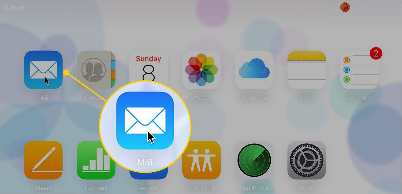 Mail on iCloud website