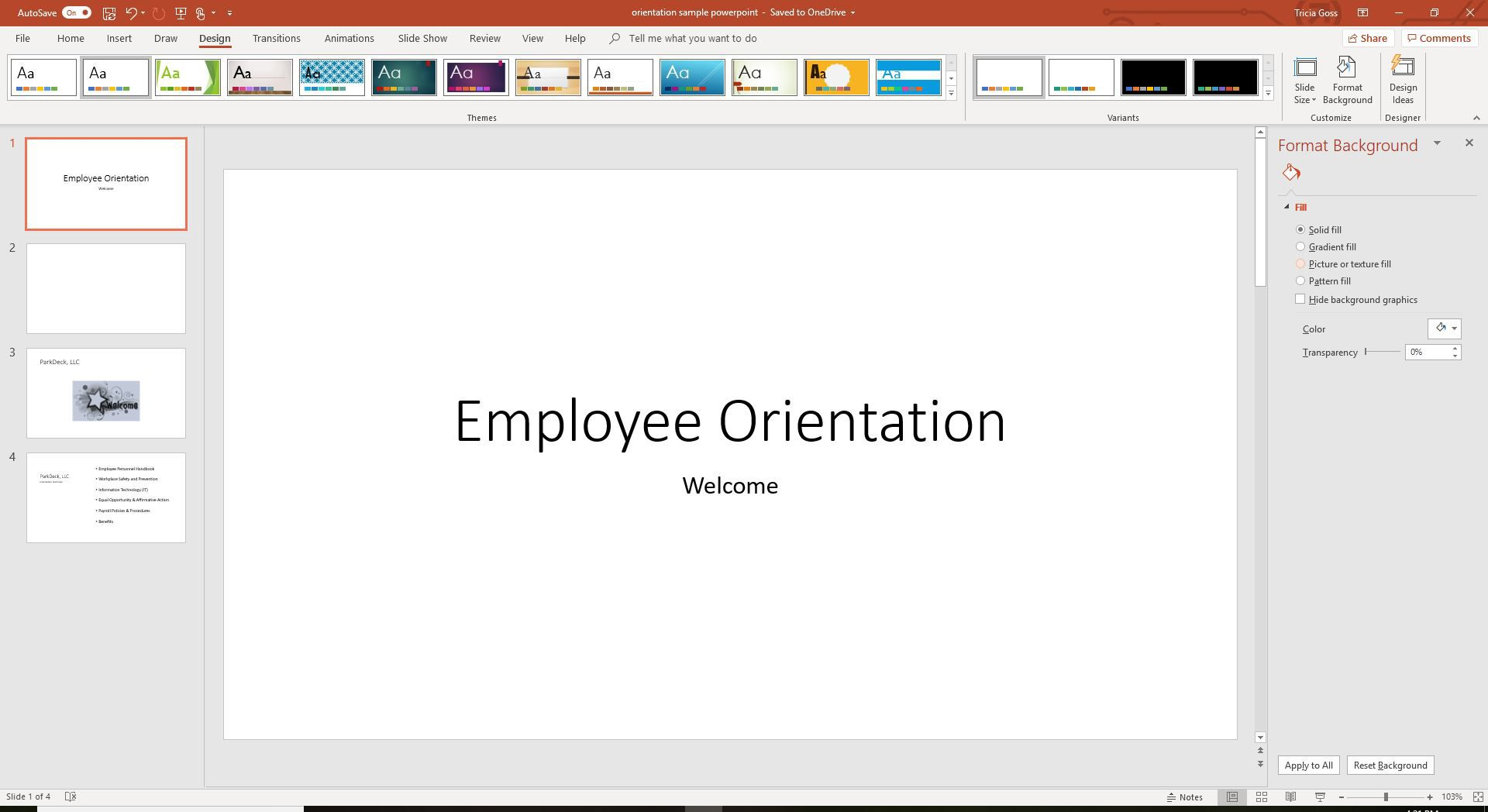 How to Add a Background Picture to PowerPoint Slides