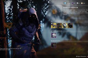 Xur, the Exotics vendor in Destiny 2