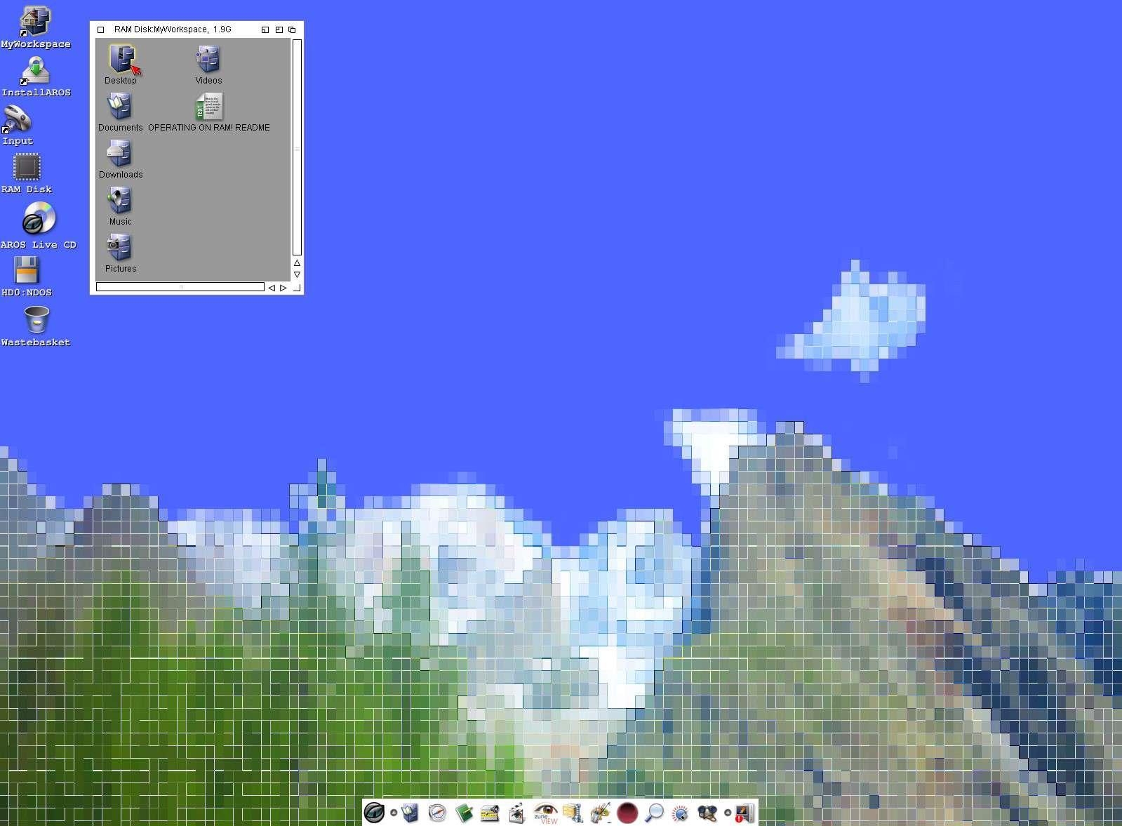 The Icaros Desktop