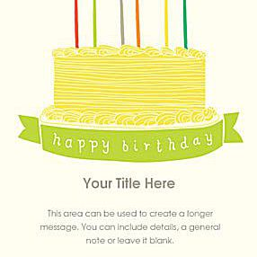 Birthday Cake By Lisa Rupp Ecards
