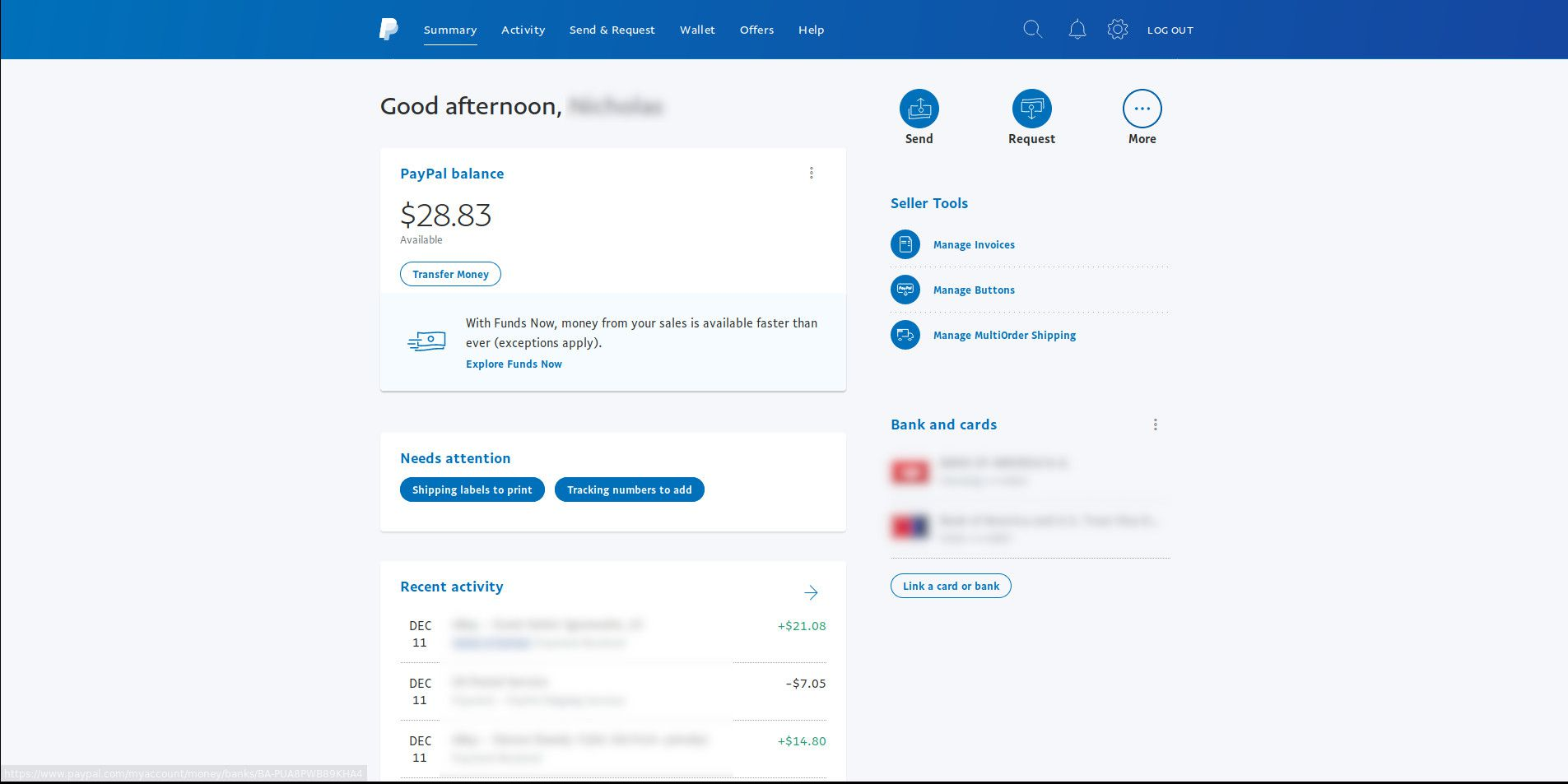 How To Withdraw Money From Paypal Instantly