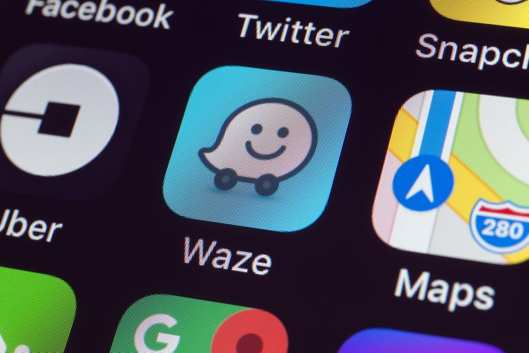 Waze voice commands app icon