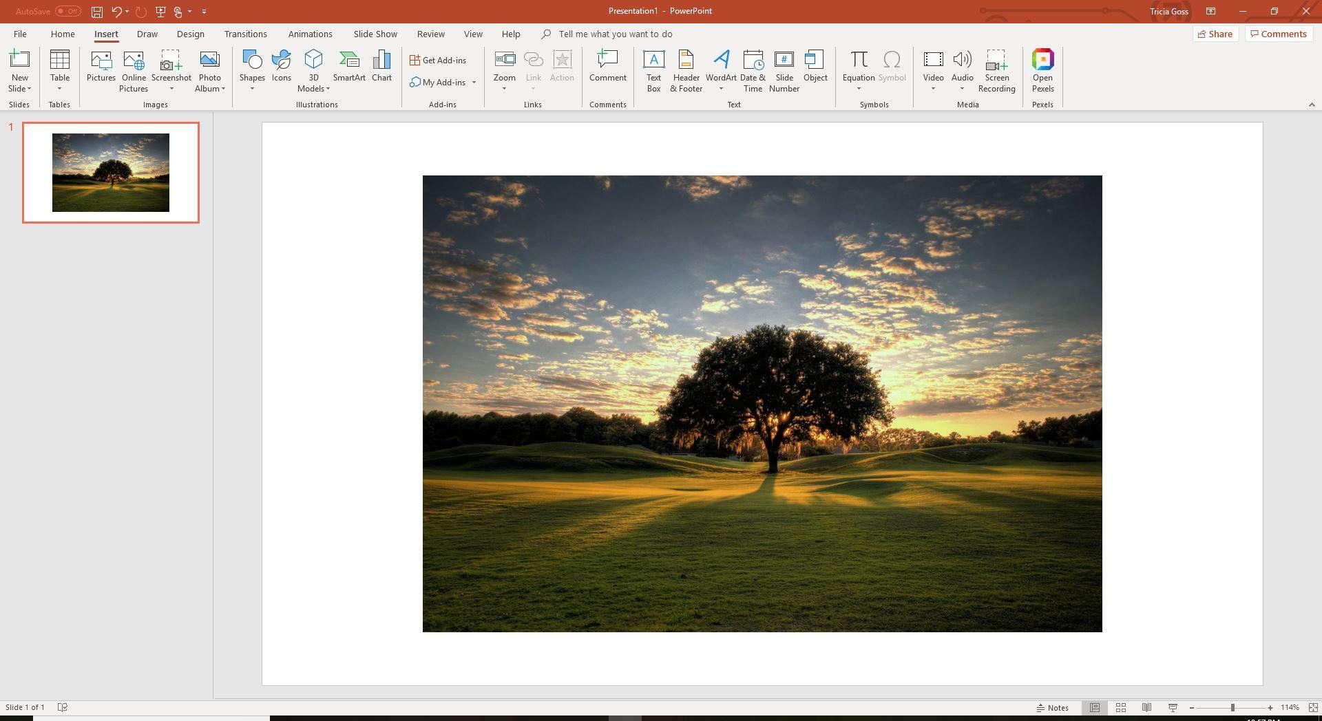 Insert image PowerPoint