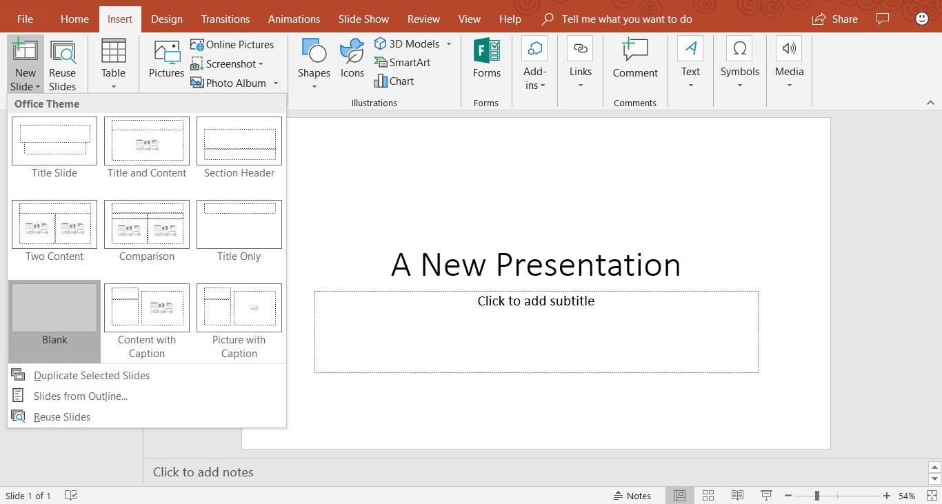Change a Black and White Photo to Color in PowerPoint