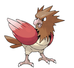 Spearow - Ken Sugimori's Official Artwork