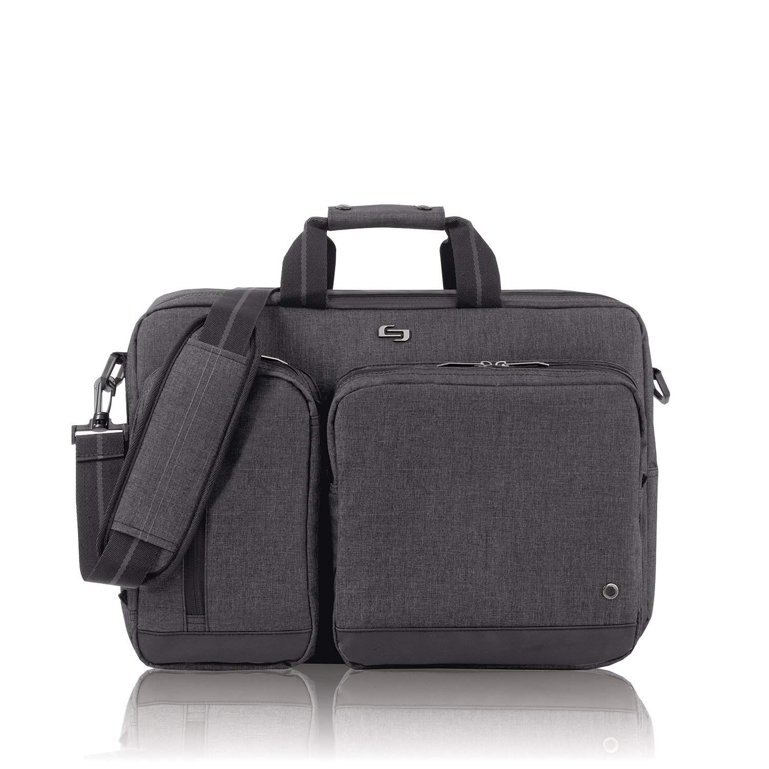 Best 2-in-1  Solo Laptop Hybrid Briefcase Backpack 51a0fe759f19e