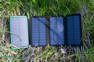 X-DRAGON 10000mAh Solar Power Bank