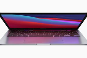 Apple MacBook Pro with the new M1 Apple chip