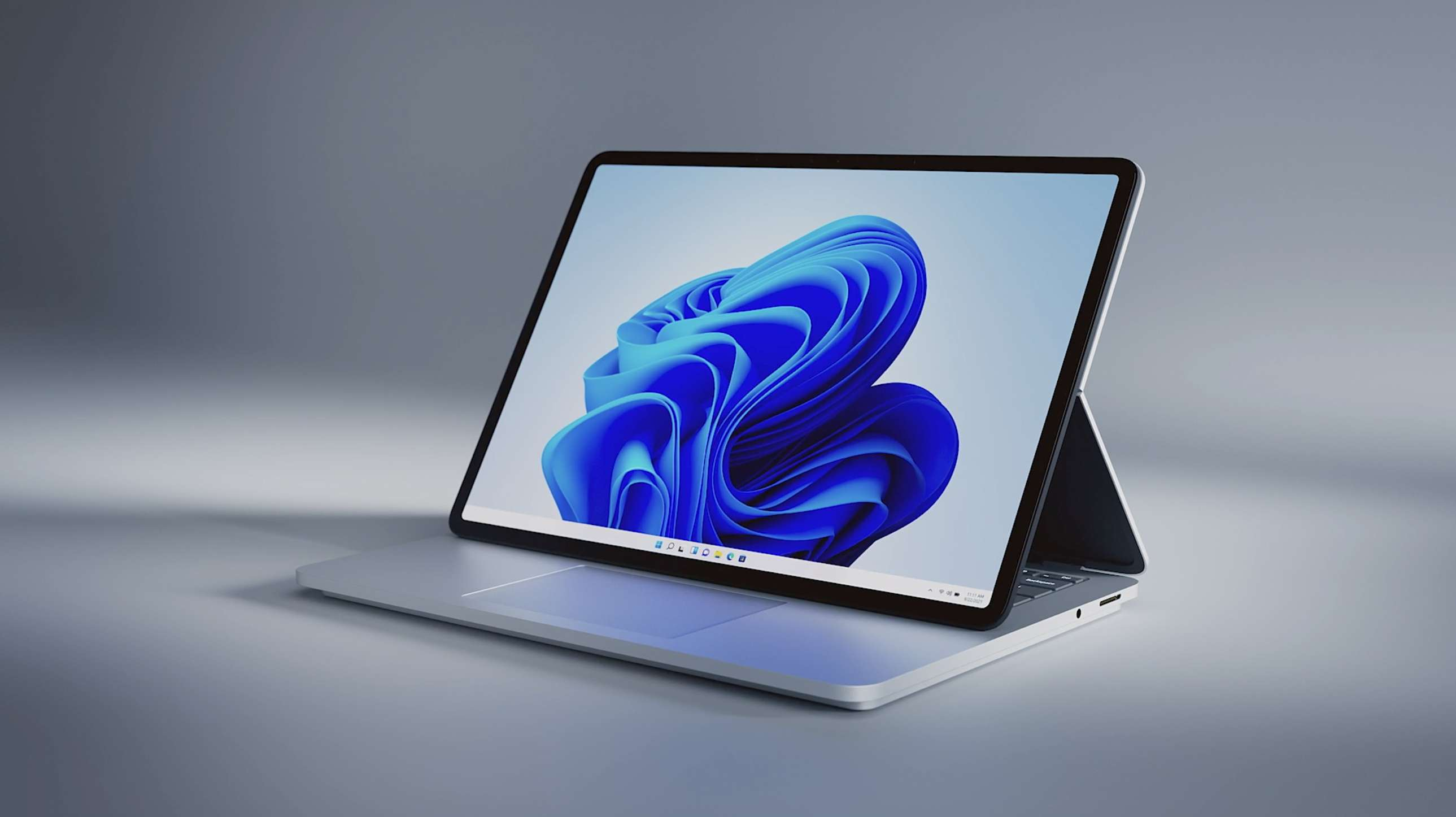 Microsoft Surface Laptop Studio in Stage Mode