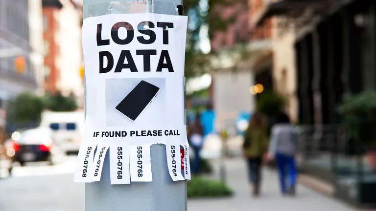 Lost Data image