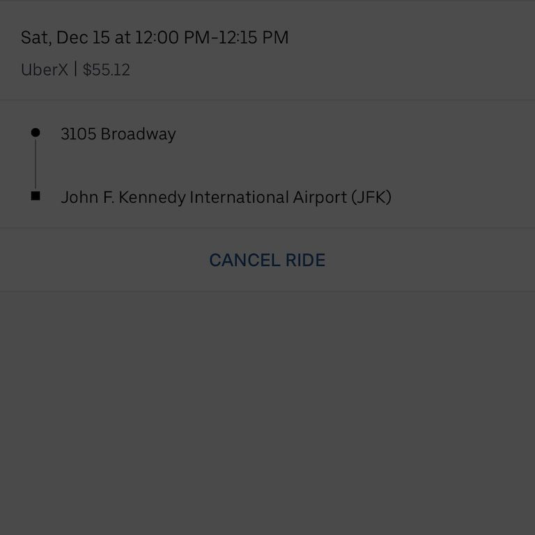 How To Cancel Uber >> How To Schedule Uber In Advance